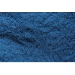 Etamine de laine teinture indigo 150 x 196m