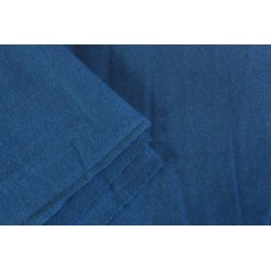 Toile de laine foulonnée 200g/m2 indigo  160 x 310cm