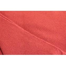 Toile de laine 480g/m 185 x 200cm rouge garance