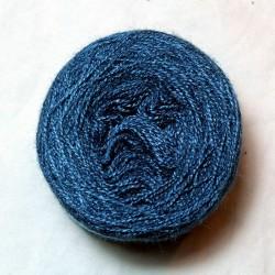 Soie tussah 20/2 - Bleu moyen foncé