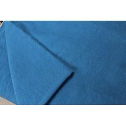 Sergé de laine fine indigo moyen 150 x 395 cm