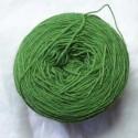 Laine 20/4 - Vert vif bouleau + indigo