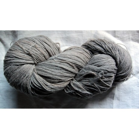 Merino and silk Nm 16/2 -  Grey