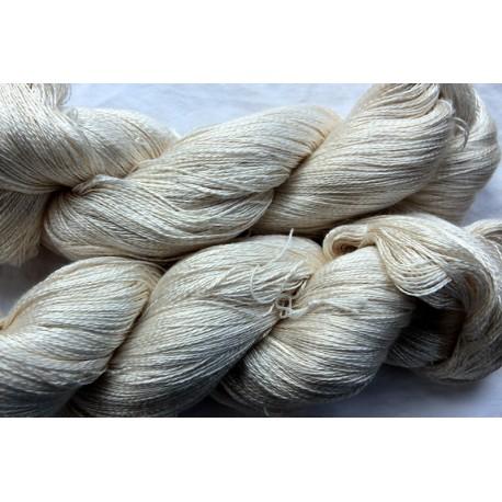 20/2 Schappe silk, made in Switzerland