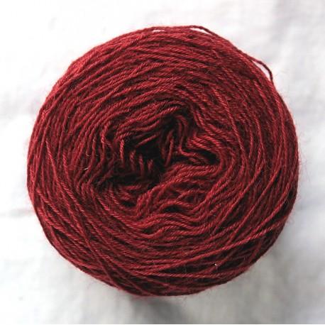 20/4 wool - Burgundy
