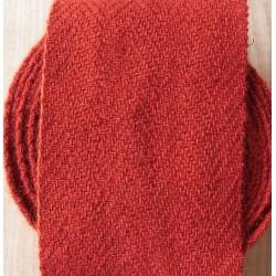 Bandes molletières en laine 610cm - Rouge vif