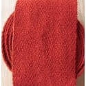 Bandes molletières en laine 640cm - Rouge vif
