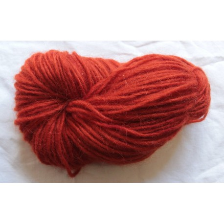1 ply wool - Bright red
