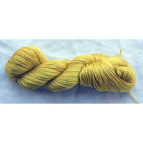 20/2 Schappe silk - Yellow