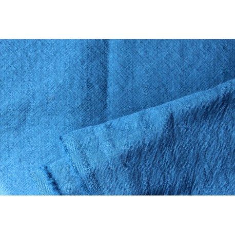Fine worsted twill 150 x 395 cm medium indigo