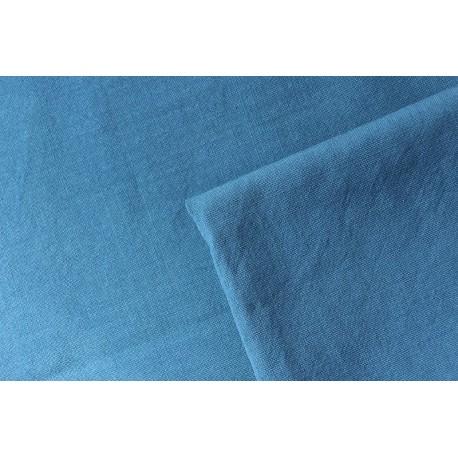 Toile de laine 230g/m indigo  150 x 300 cm