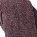 Leg wraps 610cm - Madder + indigo