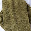 Bandes molletières en laine 640cm - Kaki gaude + fer