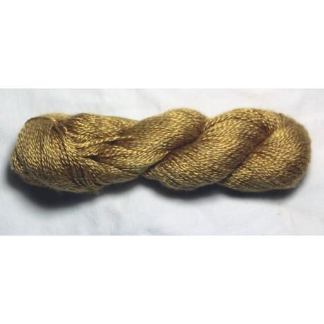 20/2 Schappe silk - Dark gold