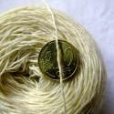Laine 20/4 - Vert vif gaude + indigo