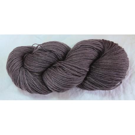 Laine 12/4 - Gris violet foncé