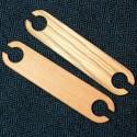 Petites navettes de tissage en bois 11cm
