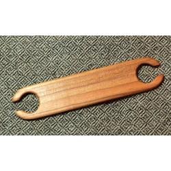 Petites navettes de tissage en bois massif 11cm - Prunier