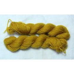 Merino skeins - Dark birch yellow