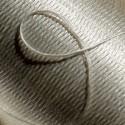 Flat silk -