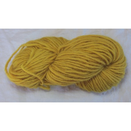 1 ply wool - bright Birch yellow