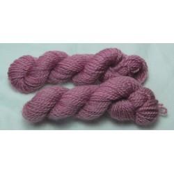Echevettes mérinos - Rose violet