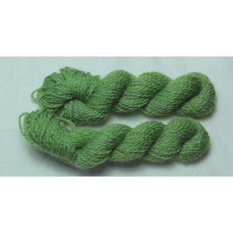 Merino skeins - light green