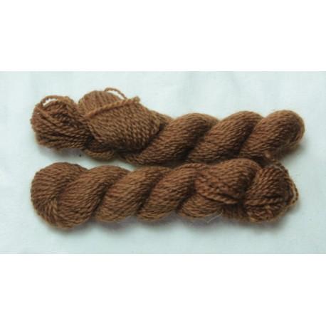Merino skeins - Dark walnut Brown