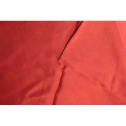Satin de soie 140 x 170 cm - Rouge Garance