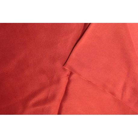 Slk satin 140x 170cm - Madder red