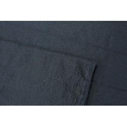 """Sergé de laine fine 180g/m - """"Noir"""" 140 x 293cm"""