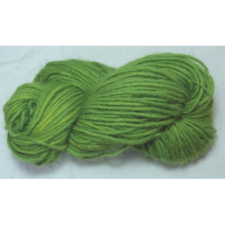 Icelandic 1-ply wool - light Weld + indigo green