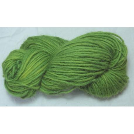 Laine 1 brin islandaise - Vert gaude + indigo clair