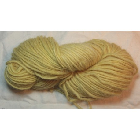 1 ply wool - Very light birch yellow