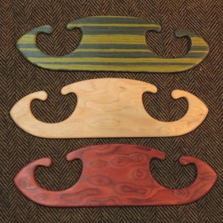 Petites navettes bois plaqué - 13cm