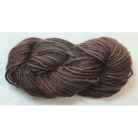 Icelandic 1-Ply wool - Madder + indigo