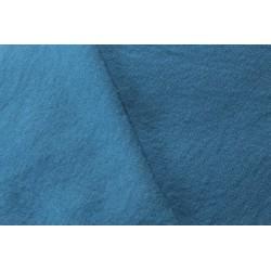 Sergé de laine moyen 320g/m - Indigo clair 160 x 300cm