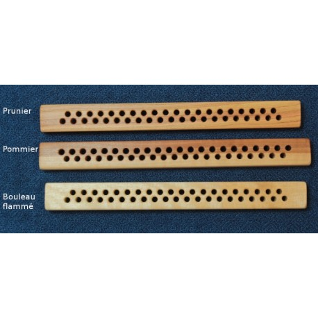 Solid wood warp spreader double row - 41 holes