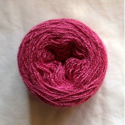 Soie tussah 20/2 rose vif